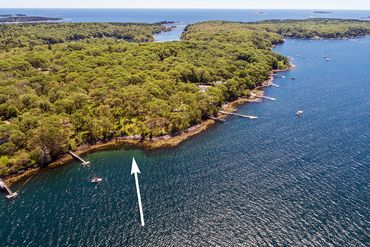 Photo of 606 Ocean Point Road Boothbay, ME 04544